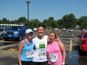 Posing with Jen and Lex post-race.