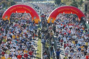 Only 33 days to go until the Marine Corps Marathon!