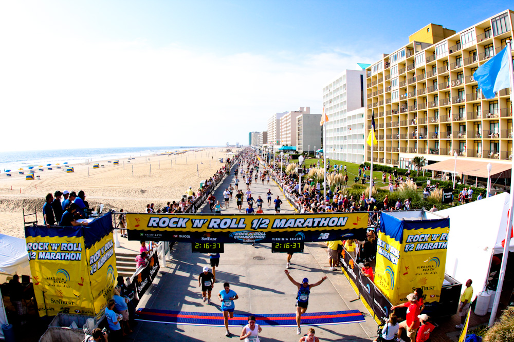 Rock N Roll Marathon Virginia Beach