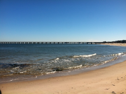 The view on my favorite Virginia Beach run.