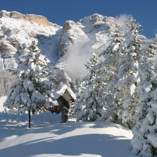 The Italian Dolomites. Photo courtesy of Collett's Mountain Holidays.
