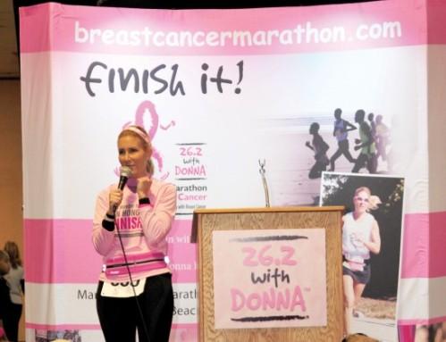 Photo of Donna Deegan courtesy of Women's Running.