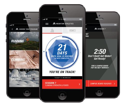 The North Face Mountain Athletics App
