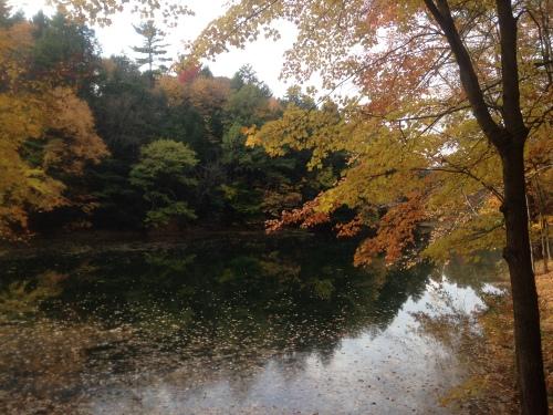 Yaddo Lake.